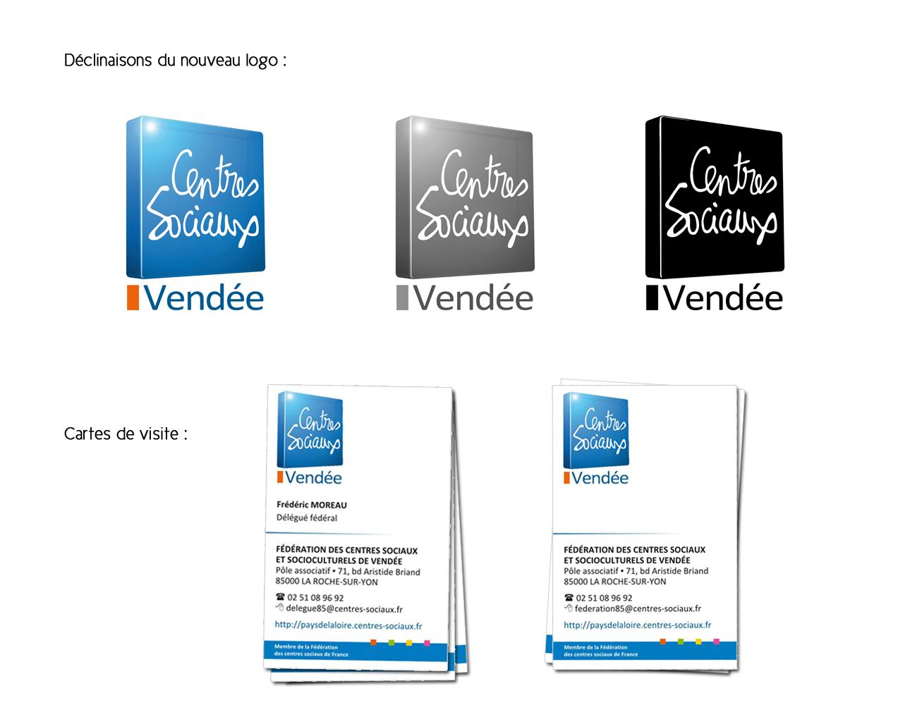 Mise A Jour En Novembre 2013 De Lidentite Visuelle Logo Et Carte Visite Respectant La Charte Graphique Etablie Par Federation Nationale